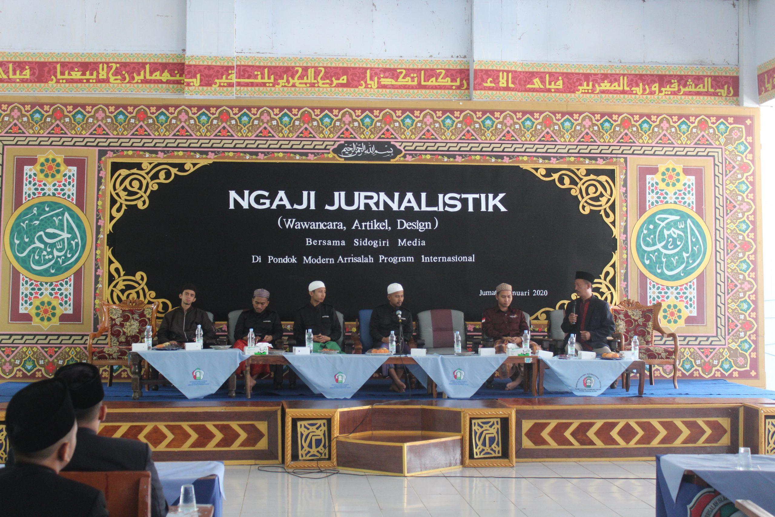 pelatihan jurnalistik sidogiri media